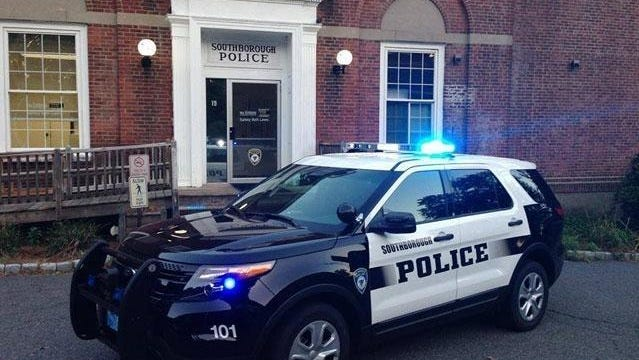 Southborough police seek motorist who crashed into motel, then drove off
