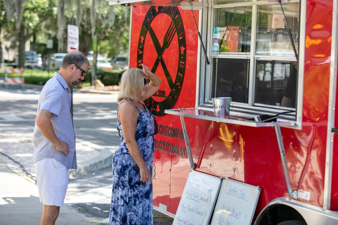 The Ocala Downtown Market Food Truck park has been drawing food truck connoisseurs and the uninitiated alike to try lots of kinds of foods in one spot.