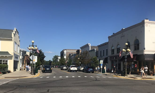 Harbor Springs' downtown area will be among the shopping areas with merchants participating in Sidewalk Sales Aug. 20-21.