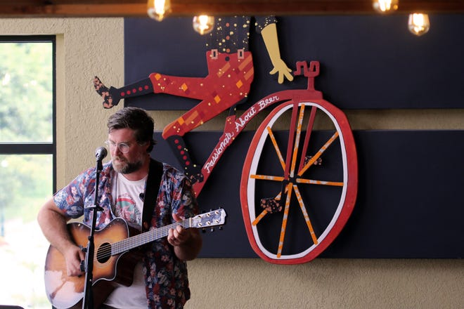 John Paul performed at Beards Brewery in Petoskey on Thursday, Aug. 12.