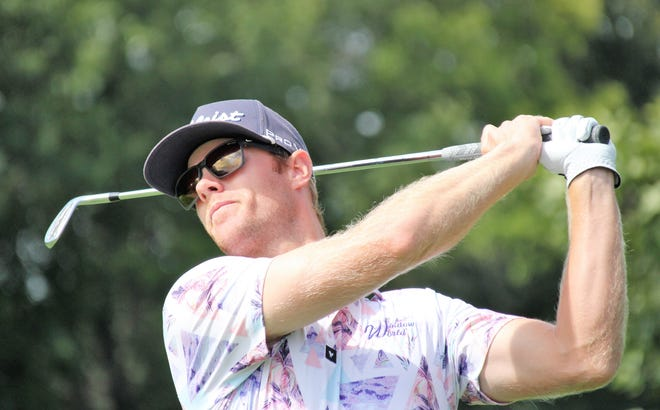 Ben Cook of Wayland opened with a 6-under 66 to lead following the first round of the Michigan PGA Professional Championship.