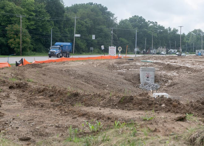 Heritage Brimfield Skilled Nursing  construction site at 5113 Route 43 Kent, OH 44240.