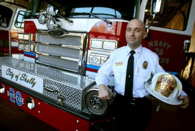 Quentin Cash is seen in this Star file photo after winning Fire Officer of the Year from the N.C. Association of Fire Chiefs in 2019