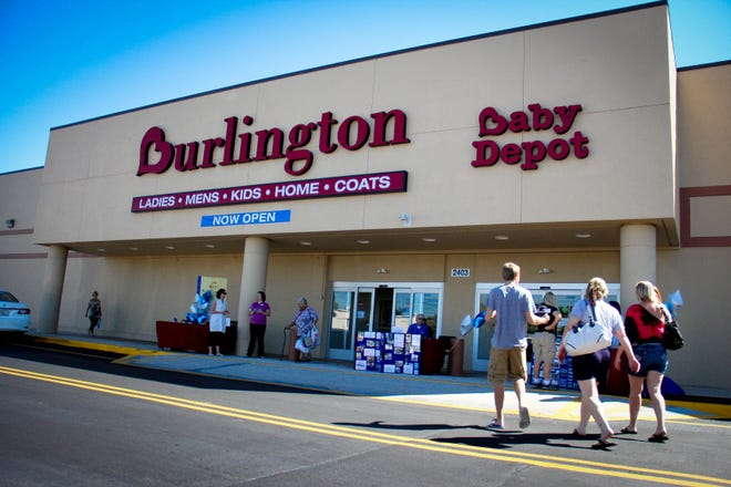 A Burlington store in Ocala. The retailer is opening nine new locations in Florida this fall.