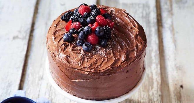 Anne Byrne's Devil's Food Cake