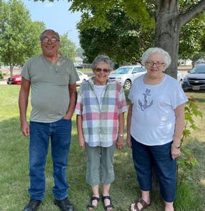 Senior companions serving Watertown include, from left, Edward Wilson, Nita Grover and Karen Paulsen.