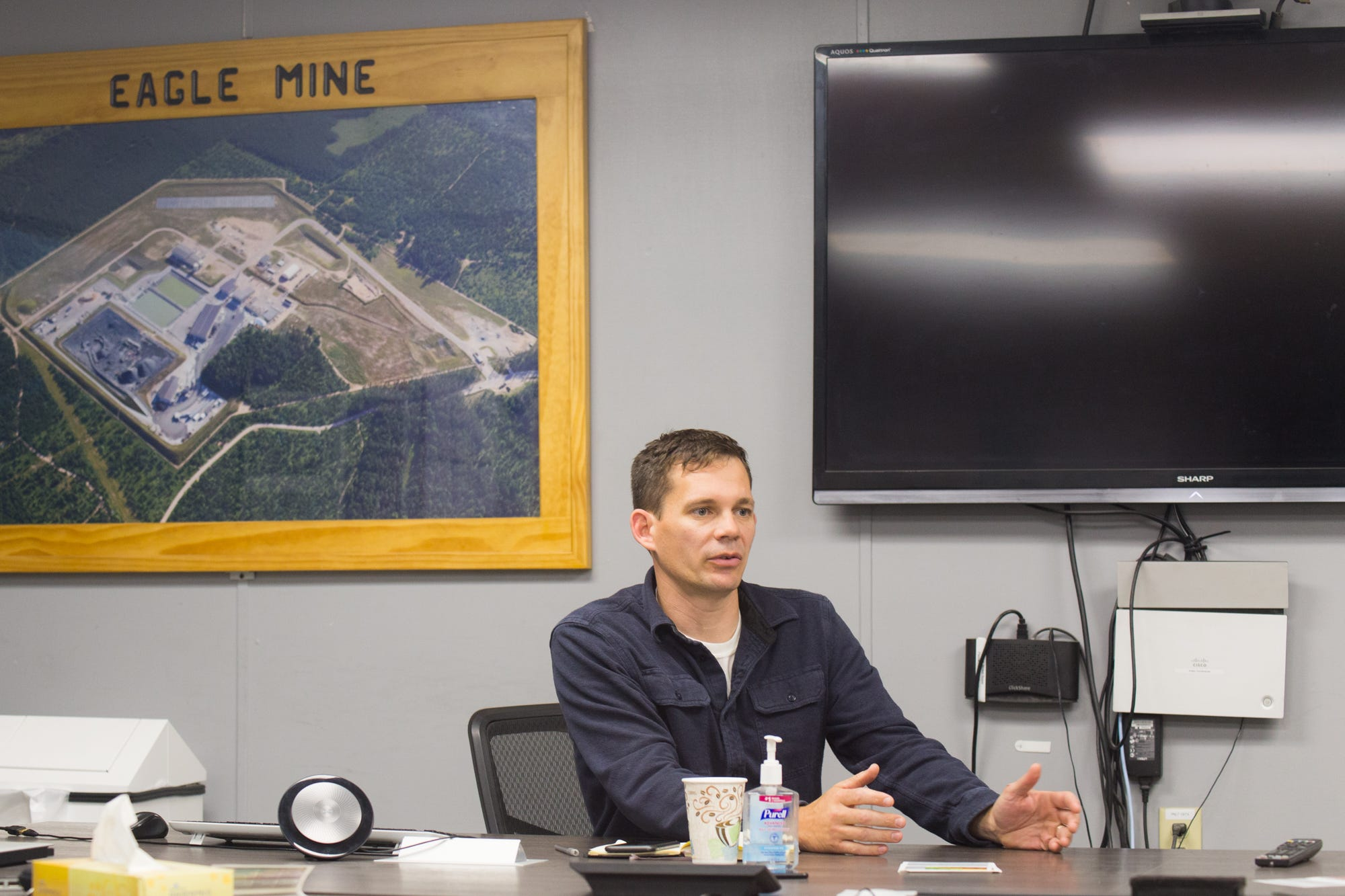 Darby Stacey, managing director of Eagle Mine, says unpredictable permitting processes can make it challenging for new mines to open.