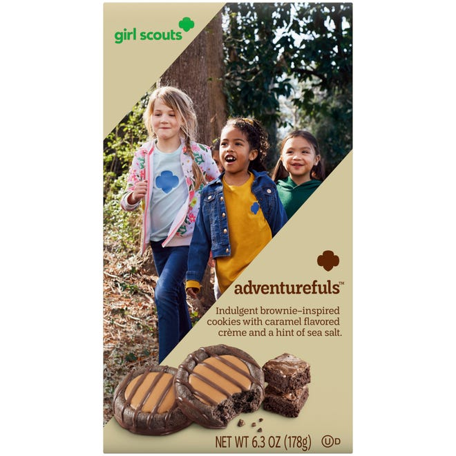 The new Adventureful Girl Scout cookie will be available for the 2022 cookie season, starting in December for Kentuckiana.