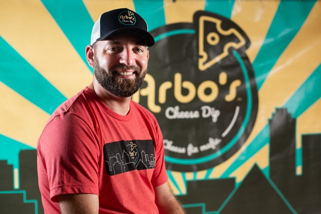 Arbo's Cheese Dip founder Andrew Arbogast.