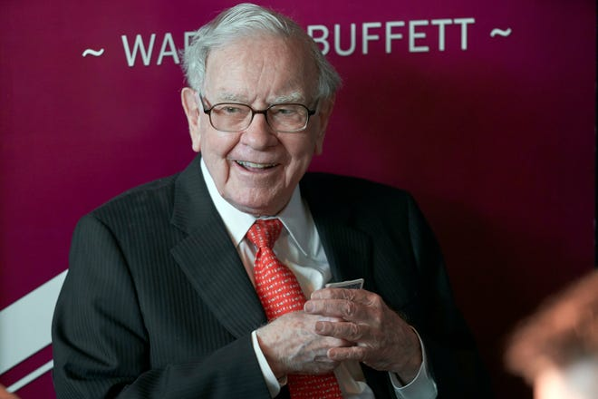Warren Buffett's company, Berkshire Hathaway, announced it has added nearly 11 million shares of Kroger stock during the second quarter, raising its holdings to 61.8 million shares.