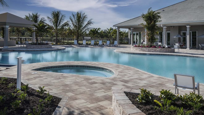 The central 3,500 square foot Resort Pool has become  a favorite spot among owners.