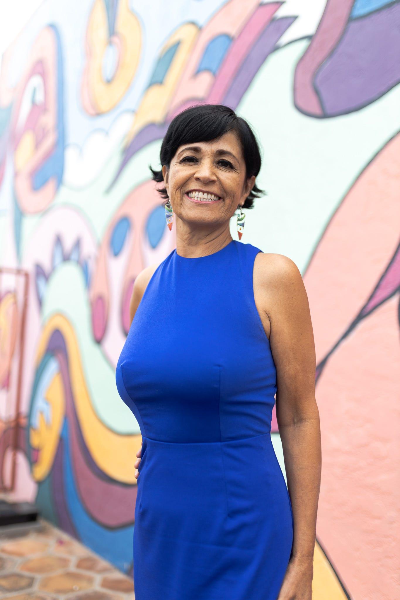 Yolima Otálora es educadora en la institución Interlingua en Phoenix.