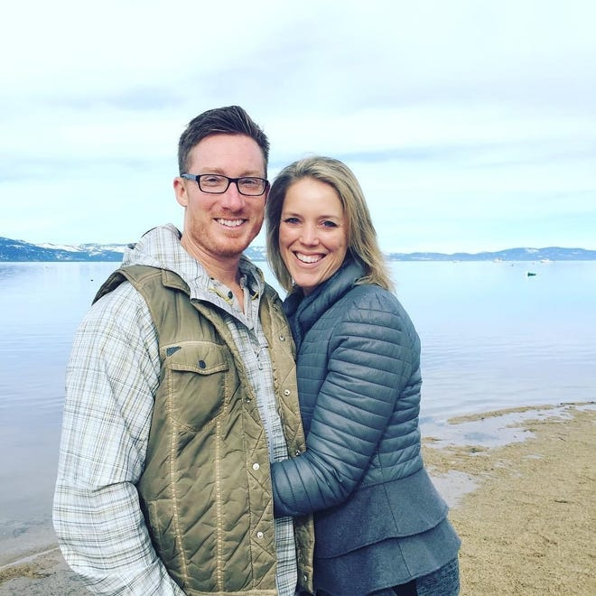 Jeff Rhoden with wife DeAnna