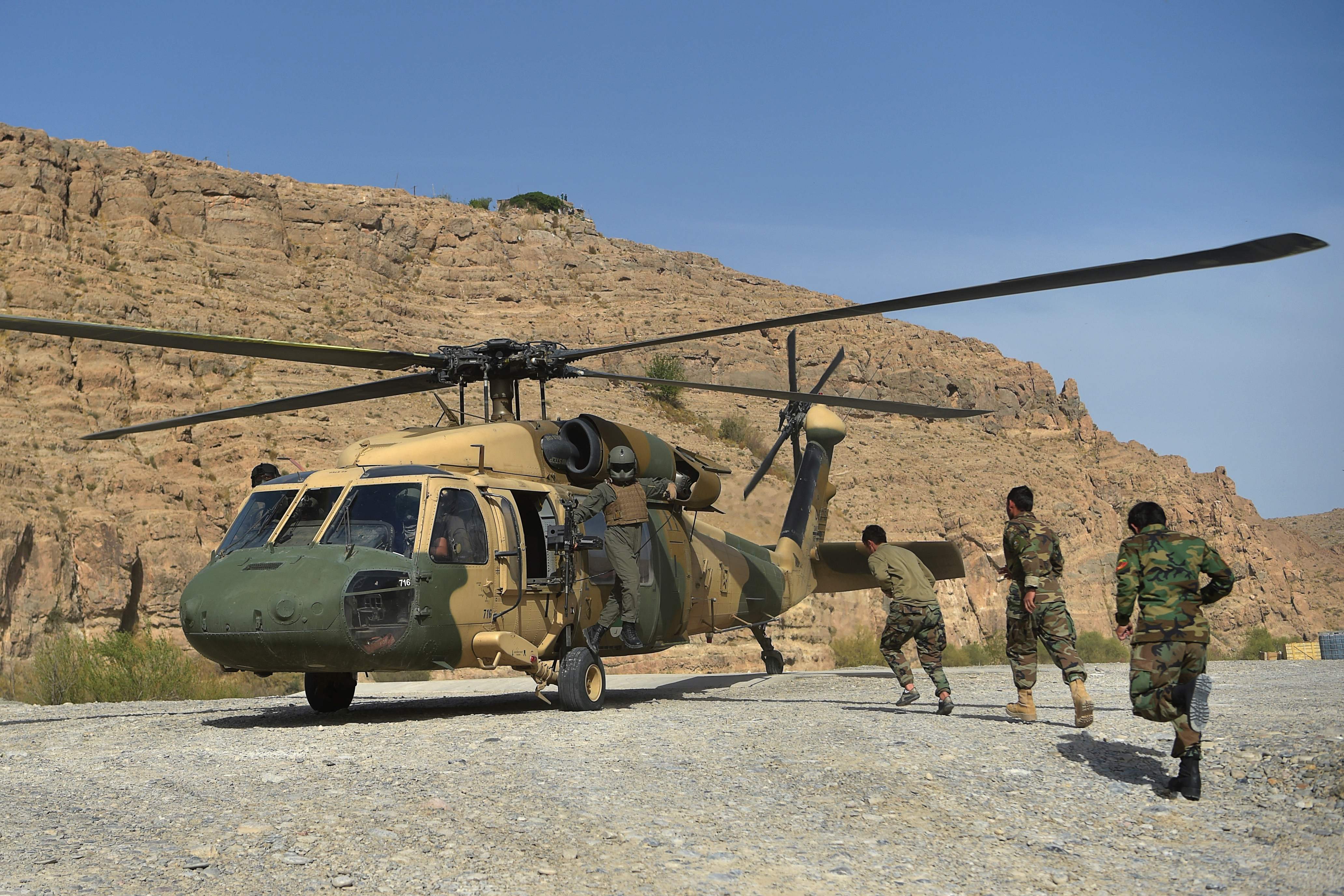 White House: Taliban has some US military supplies given to Afghans