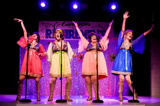 From left, Paige Harvey, Lilly Lane Stafford, Leigh Sauvageau and Megan Richards perform during the 'Marvelous Wonderettes: Dream On,' which played during the TexARTS Professional Series in the 2019-2020 season. TexARTS on Monday was granted $50,000 by the Lakeway City Council to support its upcoming season.