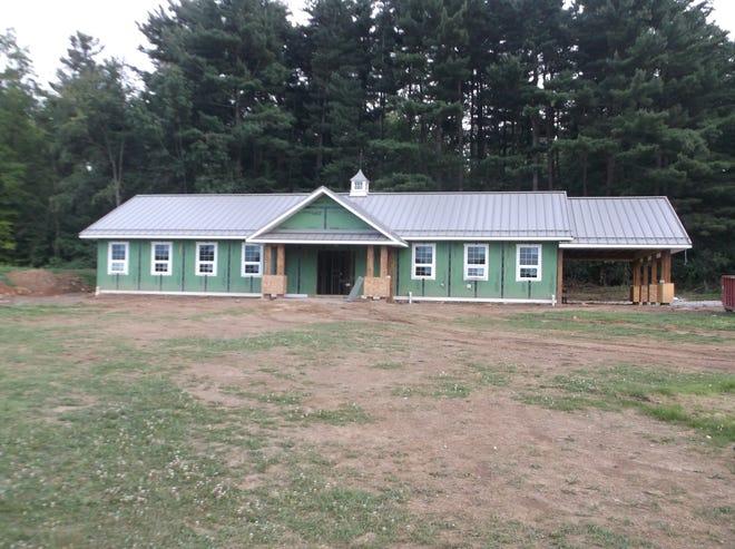 Freer Field Park building.