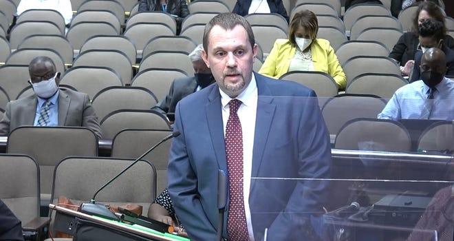 Georgia's East Central District Health Director Stephen Goggans answered COVID-19-related questions from the Richmond County Board of Education during Tuesday night's meeting.