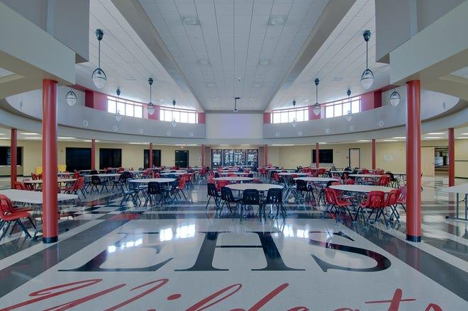 El Dorado High School cafeteria