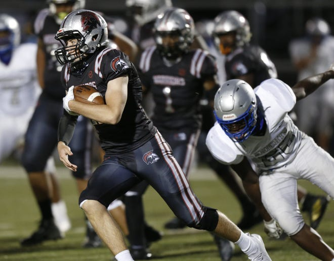 Junior quarterback Aidan Rogers threw for 807 yards and five touchdowns and rushed for three scores last season for Harvest Prep, which opens Aug. 20 against visiting Eastmoor Academy.