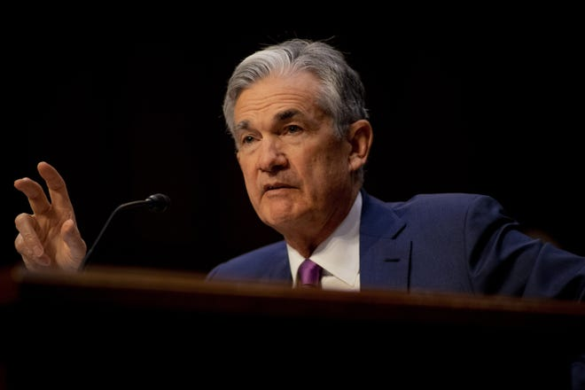 Federal Reserve Chairman Jerome Powell, shown here in 2018, had high praise for students and educators during his town hall-style meeting on Tuesday. (Douglas Christian/Zuma Press/TNS)
