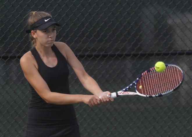 Sophomore Lydia Foster is one of the top returnees for Jerome, which hopes to capture its 18th consecutive OCC championship and contend for its first state team title since 2015.
