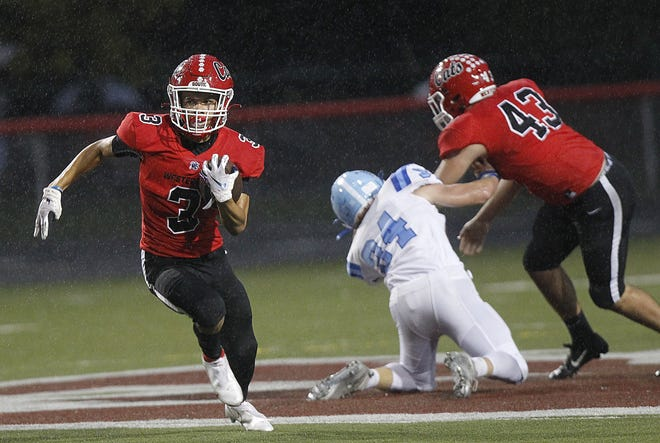 Brandon Armstrong and Westerville South open the season Aug. 20 at Olentangy. Armstrong rushed for 741 yards and 11 touchdowns last year.