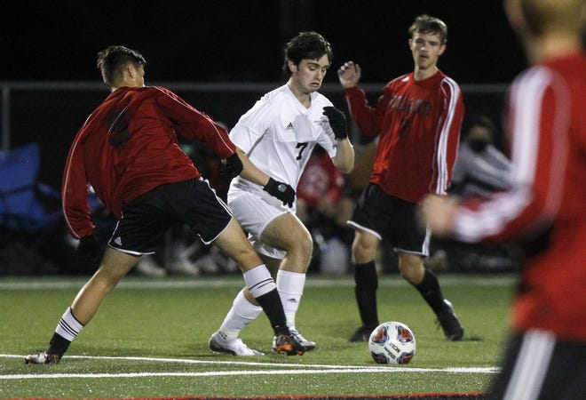 Midfielder Jack Mollette is part of an 11-player senior class that doesn't want to see Grandview Heights' district title streak end. The Bobcats are hoping to capture their eighth in a row this fall.