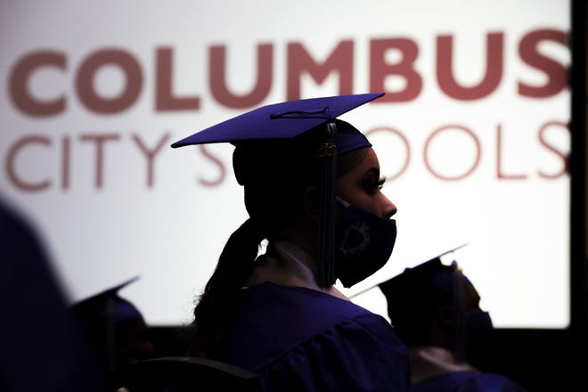 Columbus City Schools reported an 81.2% graduation compared to 81.3% the year before, according to the state report cards that came out Thursday.