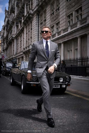 "Daniel Craig wears James Bond's suit one last time in ""No Time to Die."""