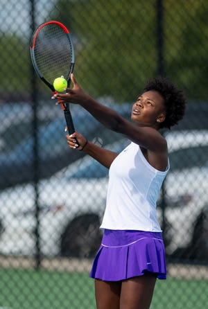 Senior Khandice Thomas is playing first singles for Central and 23rd-year coach Kelli Rings. The Tigers finished 19-3 overall last season and won the OCC-Buckeye title at 5-0.