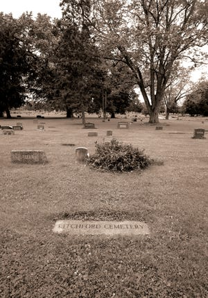 A marker was recently added to identify the area in Union Cemetery where remains from 25 graves were moved in 1955 to make way for Upper Arlington High School.