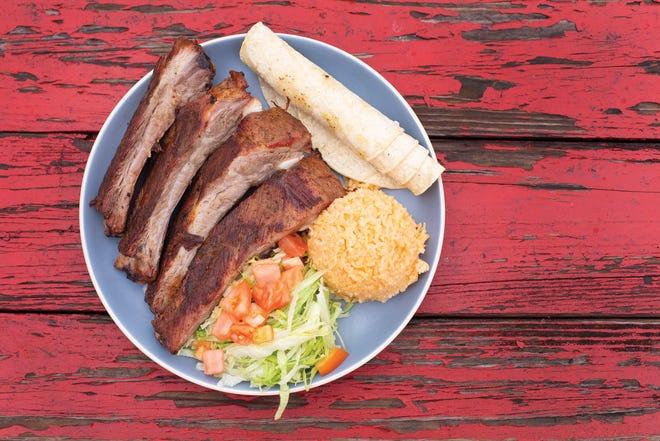 The rib plate from Alebrijes
