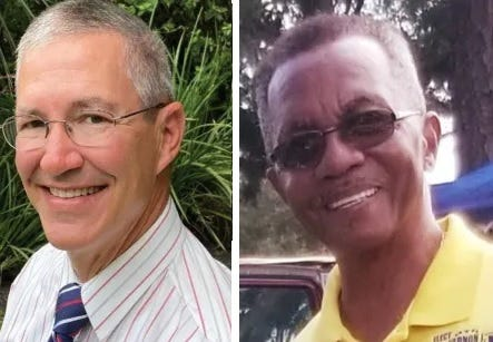 Cameron Lane, left, and Vernon Burton are running for Lake Helen mayor. Voters will decide on Nov. 2.