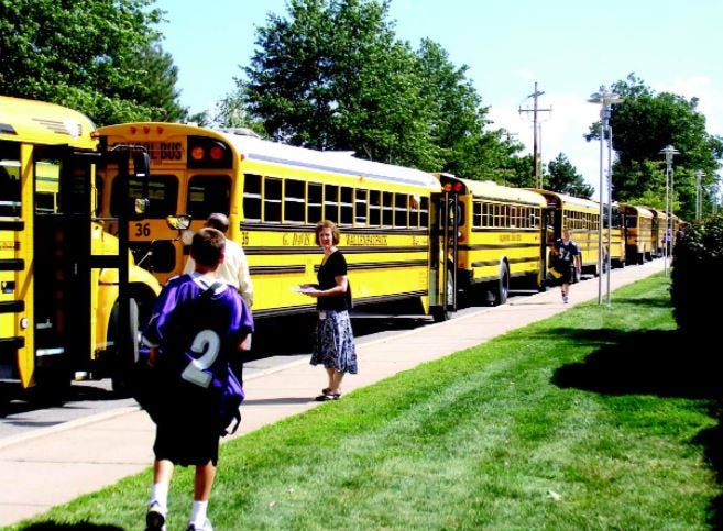 Wallenpaupack Area School District resumes classes September 7, 2021. Administrators expect at least 90% of students to choose the in-person option, in keeping with a modified Covid-19 safety plan. While subject to change with conditions, face masks inside and outside school buildings will be optional, but social distancing will still be practiced. (File photo)