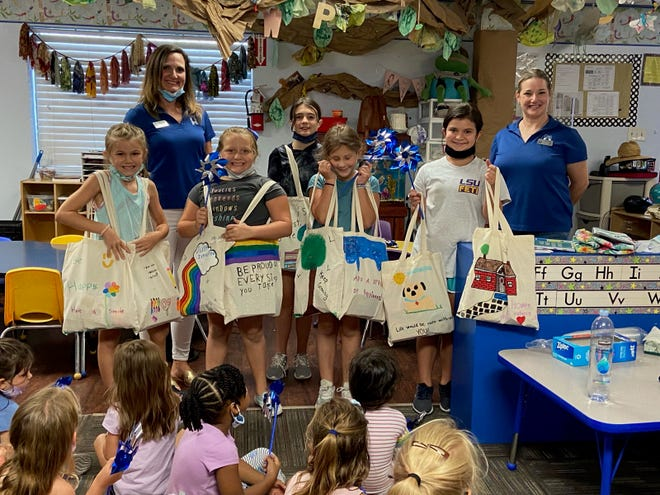 Children who attended summer camp at Kids Are People Too Daycare in Prairieville raise money for abused/neglected children in their community.