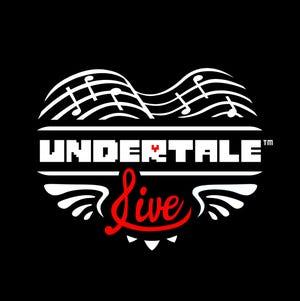 """Undertale Live"" logo"