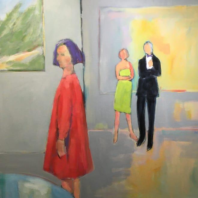 The Red Dress by Sarah Benham