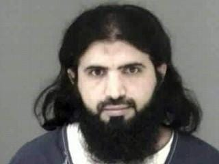 This photo was taken when Ali al-Marri was booked into the Peoria County Jail in December 2001.