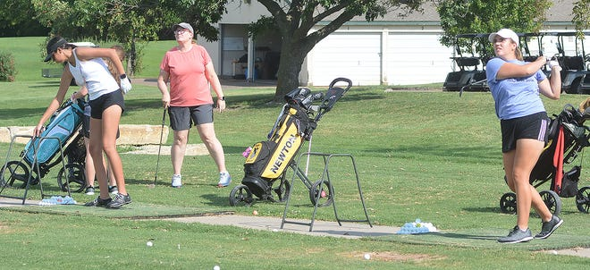 The Newton High School girls' golf team opens the season Aug. 30 at the Derby Invitational.