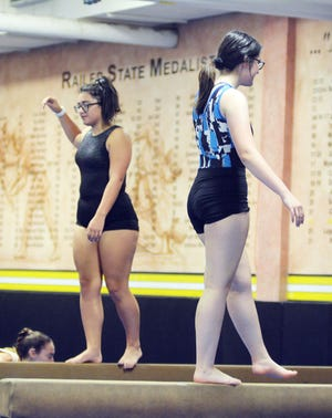 The Newton High School gymnastics team is a state qualifier from last year. The Railers open the season Sept. 7 with a four-team home meet.