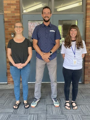 New Sisson staff members for the 2021/22 school year include school counselor Michelle Archer, fifth grade teacher Paul Stallard, and eighth grade English and social studies teacher Lindsey Nemec.