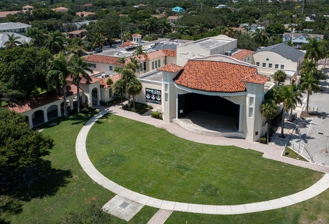 Old School Square in Delray Beach, Florida on August 16, 2021. (GREG LOVETT/PALM BEACH POST)