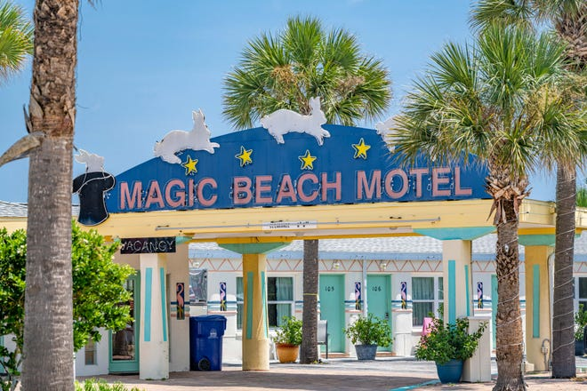 The Magic Beach Motel, located in Vilano Beach is for sale and could be demolished next year.