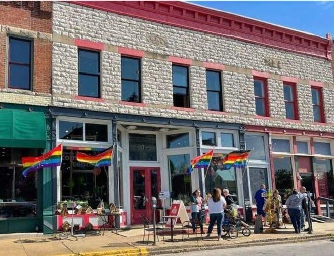Pride building in Spencer.