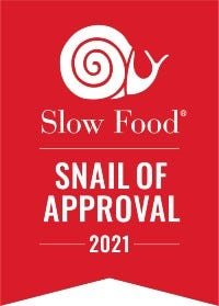 Snail of Approval logo from Slow Food USA