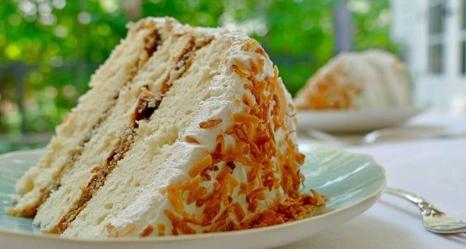 Lane Cake Slice