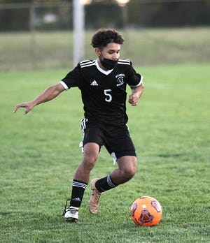 Sturgis senior Freddy Camacho will look to help lead the Trojan soccer team on the pitch this fall.