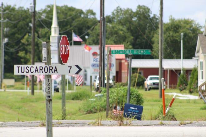 The future industrial hub is off Tuscarora-Rhems Road.