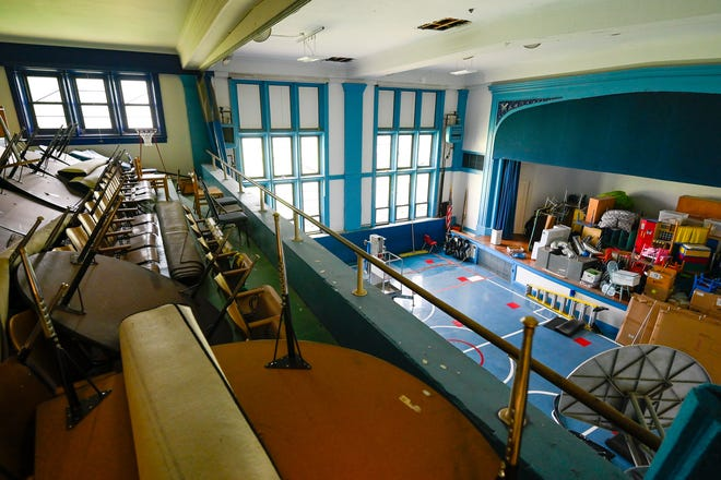 Gymatorium at the Hadley Elementary School on Wednesday, Aug. 18, 2021.