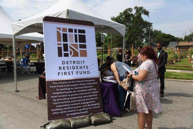 A new initiative Detroit Residents First Fund, which is set to support grassroots organizations in the city, was announced August 18, 2021, during a celebratory event for the 15 organizations in the initiative's pilot program.